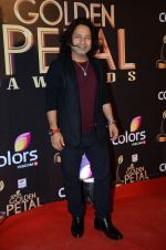 Kailash Kher at Golden Petal Awards in Mumbai on 6th March 2016