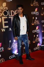 Siddharth Shukla at Golden Petal Awards in Mumbai on 6th March 2016