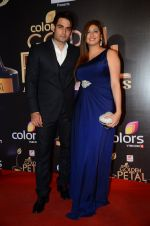 Vahbbiz Dorabjee, Vivian Dsena at Golden Petal Awards in Mumbai on 6th March 2016 (229)_56dd2eb46bf04.JPG