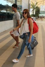 Hazel Keech snapped at airport on 7th March 2016