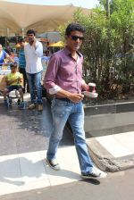 Manoj Bajpai snapped at airport on 7th March 2016