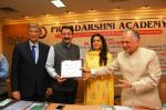 Juhi Chawla at the Priyadarshni Academy_s Literary Awards and Educational Scholarships program ceremony with Dr. Sanjay Deshmukh and Mr. Nanik Rupani on 8th March 2016  (15)_56e0062d4ca9b.JPG