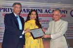 Juhi Chawla at the Priyadarshni Academy_s Literary Awards and Educational Scholarships program ceremony with Dr. Sanjay Deshmukh and Mr. Nanik Rupani on 8th March 2016  (4)_56e006219f830.JPG