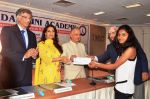 Juhi Chawla at the Priyadarshni Academy_s Literary Awards and Educational Scholarships program ceremony with Dr. Sanjay Deshmukh and Mr. Nanik Rupani on 8th March 2016  (6)_56e00623a9a9f.JPG