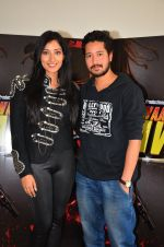 Niharika Raizada, Rajat Barmecha at Waarrior Savitri film launch on 8th March 2016 (35)_56e00e3627629.JPG