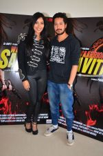 Niharika Raizada, Rajat Barmecha at Waarrior Savitri film launch on 8th March 2016 (37)_56e00e10608bc.JPG