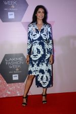 Sarah Jane Dias at Lakme Fashion Week Preview on 8th March 2016