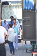 Hrithik Roshan snapped at filmistan on 9th March 2016