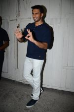 Ranveer Singh snapped post photo shoot on 9th March 2016