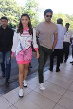 Alia Bhatt, Sidharth Malhotra snapped at airport on 10th March 2016