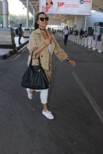 Neha Dhupia snapped at airport on 10th March 2016