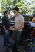 Sidharth Malhotra snapped at airport on 10th March 2016