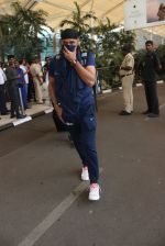 Harbhajan Singh snapped at airport on 11th March 2016
