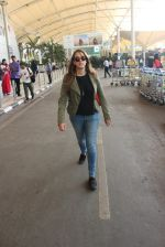Hazel Keech snapped at airport on 11th March 2016
