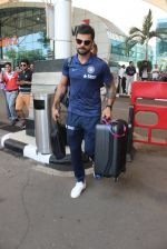 Virat Kohli snapped at airport on 11th March 2016