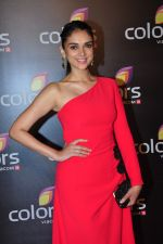 Aditi Rao Hydari at Colors red carpet on 12th March 2016