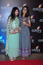 Alka Yagnik at Colors red carpet on 12th March 2016