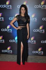 Anita Hassanandani at Colors red carpet on 12th March 2016