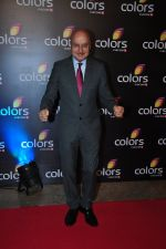 Anupam Kher at Colors red carpet on 12th March 2016