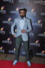 Ayushman Khurana at Colors red carpet on 12th March 2016