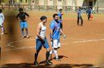 Dino Morea snapped at soccer match on 13th March 2016