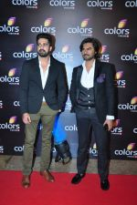 Gaurav Chopra at Colors red carpet on 12th March 2016