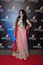 Giaa Manek at Colors red carpet on 12th March 2016