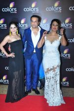 Kashmira Shah, Krishna Abhishek at Colors red carpet on 12th March 2016 (265)_56e553f055458.JPG