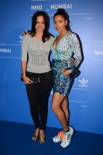 Nisha Harale, Candice Pinto at Adidas launch in Mumbai on 12th March 2016