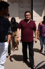 Rishi Kapoor at Kapoor N Sons promotions in Mumbai on 13th March 2016