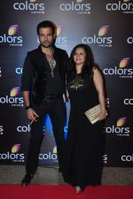 Rohit Roy,Manasi Joshi Roy at Colors red carpet on 12th March 2016 (127)_56e554e0dd609.JPG