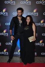 Rohit Roy,Manasi Joshi Roy at Colors red carpet on 12th March 2016 (129)_56e554edd8f07.JPG