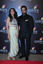 Salil Acharya at Colors red carpet on 12th March 2016