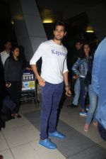 Sidharth Malhotra promote Kapoor N Sons after they return from Bangalore on 12th March 2016