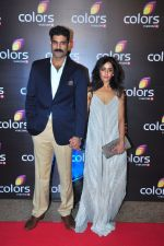 Sikander Kher at Colors red carpet on 12th March 2016 (166)_56e55563823fb.JPG