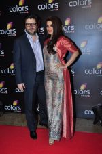 Sonali Bendre at Colors red carpet on 12th March 2016 (305)_56e5556fd00a3.JPG