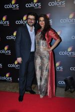 Sonali Bendre at Colors red carpet on 12th March 2016