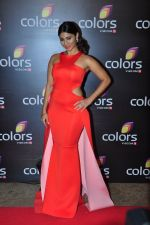 Tanisha Mukherjee at Colors red carpet on 12th March 2016