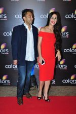 Tara Sharma at Colors red carpet on 12th March 2016