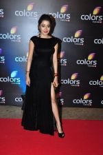 Tina Dutta at Colors red carpet on 12th March 2016