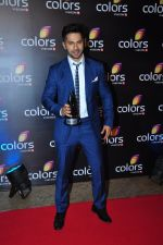 Varun Dhawan at Colors red carpet on 12th March 2016
