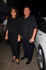 Rishi Kapoor, Neetu Singh at Karan Johar_s screening for Kapoor n Sons on 13th March 2016 (51)_56e6a9c79bfad.JPG