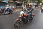 Sonali Kulkarni on harley davidson for taj lands end on 13th March 2016 (3)_56e6a3732a8f0.jpg