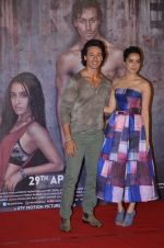 Shraddha Kapoor, Tiger Shroff at Baaghi trailer Launch on 14th March 2016