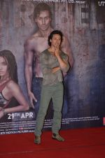 Tiger Shroff at Baaghi trailer Launch on 14th March 2016
