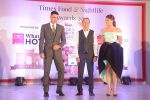 Akshay Kumar,Jacqueline Fernandez at Times Food Awards on 15th March 2016