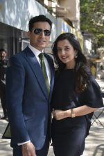 Amy Billimoria at Designer Paul Jheeta from Savile Row, London launched his label exclusively in India at Amy Billimoria House of Design on 15th March 2016 (7)_56e96e0065f35.JPG