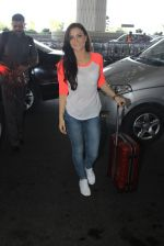 Elli Avram snapped at airport on 15th March 2016