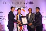 Madhurima Tuli at Times Food Awards on 15th March 2016