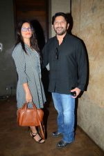 Arshad Warsi, Maria Goretti at the sreening of Kapoor N Sons in Lightbox on 17th March 2016